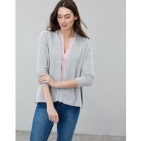 GREY MARL Dawn Easy Knitted Cardigan  Size 8