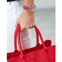 Red Stripe Raindale Red Womens Coast Style Watch  Size One Size