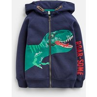 Navy Roarsome Seth Character Hoodie 1-6 Years  Size 3Yr