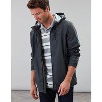 Dark Grey Portwell Lightweight Waterproof Jacket  Size M