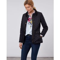 True Black Newdale Quilted Coat  Size 12