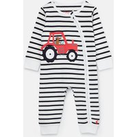 Winfield Cotton Zip Babygrow