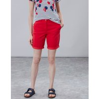 Red Cruise Long Chino Shorts  Size 14
