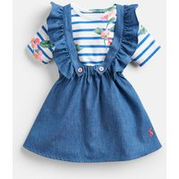 CHAMBRAY Jenny Jersey Bodysuit And Skirt Set  Size 18m-24m
