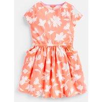 ORANGE FLORAL Jude Jersey Raglan Sleeve Dress 3-12 Yr  Size 6yr