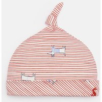 Red Dog Stripe 204675 Knotted Hat  Size 9M-12M
