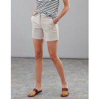 Ivory Cruise Mid Thigh Length Chino Shorts  Size 10
