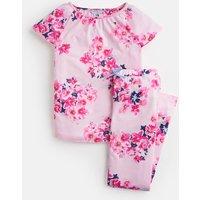 PINK FLORAL Kindra Flutter Sleeve Pyjama Set 1-12yr  Size 5yr
