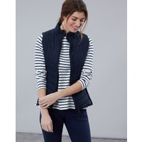 Marine Navy Fallow Padded Gilet With Funnel Neck  Size 16