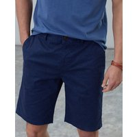 Blue Navy Palm Swanmore Printed Chino Shorts  Size 40