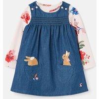 Peter Rabbit Avie Pinafore Dress Set 0-24 Months