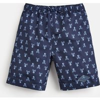 NAVY SKULL AND CROSSBONES Ocean Swim Shorts 1-12 Yr  Size 7yr-8yr