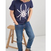 NAVY SPIDER Ben Screenprint T-Shirt 3-12yr  Size 3yr