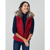 Maybury Chevron Gilet With Hood