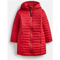 London Bus Red Longline Kinnaird Packable Coat 3-12 Years  Size 9Yr-10Yr