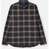 213133 BCI Cotton Long Sleeve Classic Fit Peached Poplin Shirt