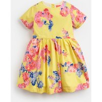 Yellow Floral Martha Woven Printed Dress 1-6Yr  Size 5Yr