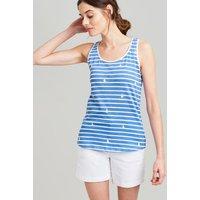BLUE PEAR STRIPE Bo print Jersey Vest  Size 12