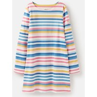 Multi Stripe Riviera Long Sleeve Shift Dress 3-12 Years  Size 11Yr-12Yr