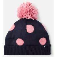 Bobble Textured Spot Knit Hat