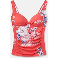 Red Sky Whitstable Floral 204550 Tankini Top  Size 8