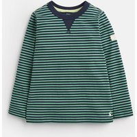 GREEN NAVY STRIPE Breton Stripe T-Shirt 1-6yr  Size 4yr