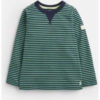 GREEN NAVY STRIPE Breton Stripe T-Shirt 1-6yr  Size 3yr