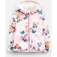 Pink Marl Skelwith Cosette Reversible Printed Jacket  Size 3M-6M