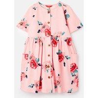 Liddie Button Through Smock Dress 1-12 Years