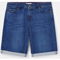 215658 Longer Denim Shorts