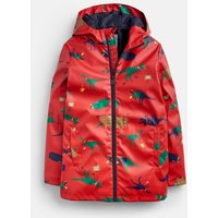 Red Dino 207179 All Over Print Coat  Size 5Yr