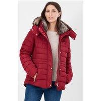 Gosway Fur Trim Padded Coat