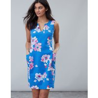 Blue Floral Elayna Shift Dress  Size 10