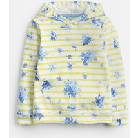 YELLOW SUN STRIPE 204614 Overhead Hooded Sweat  Size 11yr-12yr