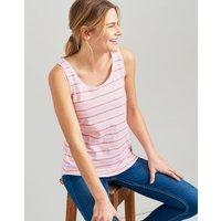 Pink Stripe Bo Stripe Jersey Vest  Size 8