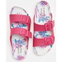 Pink Penley Printed Slider Sandal  Size Adult 6
