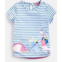 Blue Exploring Dinos Pixie Screenprint T-Shirt 1-6 Years  Size 4Yr