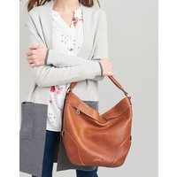 Tan Lowesby Leather Hobo Bag  Size One Size