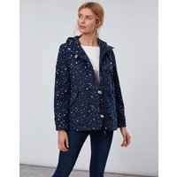 Star Gazing Coast Print Waterproof Jacket  Size 12