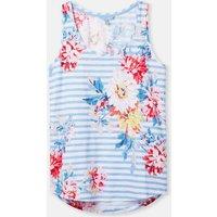 White Stripe Whitstable Floral 204538 Basic Stripe Vest  Size 18