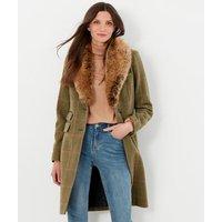 Langley Long Tweed Coat