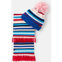 Snowy Hat And Scarf Set
