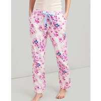 PINK FLORAL Snooze Woven Pyjama Bottoms with Lace Detail  Size 16