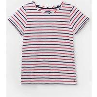 Pink Purple Stripe 206904 Stripe Jersey T Shirt  Size 10