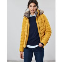 Gosway Chevron Quilt Padded Jacket With Hood