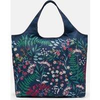 Floral Packaway Shopping Bag