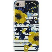 French Navy Creme Floral Iphone 6/7/8 Case