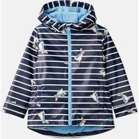 Navy Stripe Peter Rabbit Skipper Showerproof Rubber Coat 1-6 Years  Size 4Yr