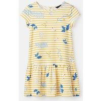 Yellow Stripe Sprig Alina Jersey Dress 1-6 Yrs  Size 2Yr