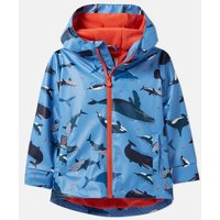 Blue Whales Skipper Showerproof Rubber Coat 1-6 Years  Size 1Yr